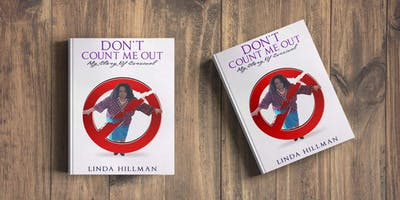 Don't Count Me Out Book Launch and Pre-Orders
