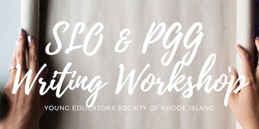 SLO & PGG Writing Workshop
