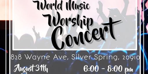 Praise and Worship World Music Concert with JEAN-PIERRE LEROY