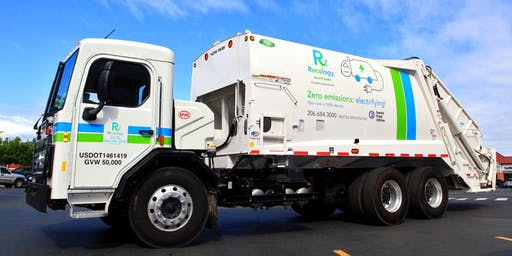 Clean Fuel Refuse Trucks: Recology Yard Tour