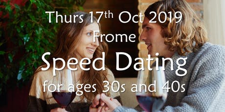 Speed Dating- Frome (Ages 30s and 40s)- BABS (Bath & Bristol Singles) tickets