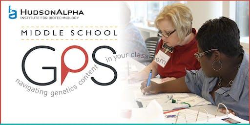 2019 Mobile Middle School GPS Workshop