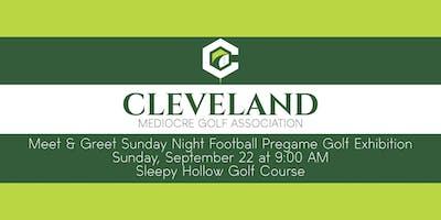 CMGA Meet & Greet Sunday Night Football Pregame Golf Exhibition