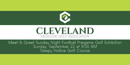 CMGA Meet & Greet Sunday Night Football Pregame Golf Exhibition