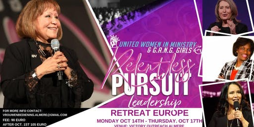 U.W.I.M & G.A.N.G Girls European Leadership Retreat Registration Details