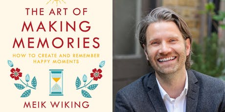 The Art of Making Memories with Meik Wiking tickets