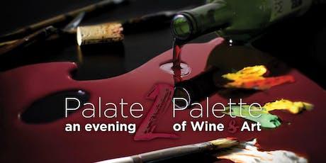 Palate2Palette: An Evening of Wine & Art tickets
