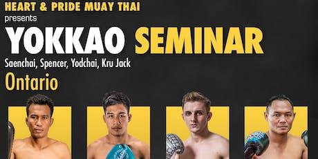 Yokkao: Saenchai Muay Thai Seminar tickets
