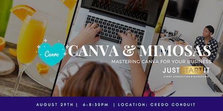 Canva & Mimosas tickets