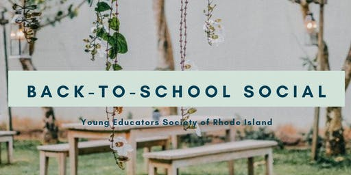 YES RI Back-to-School Social!