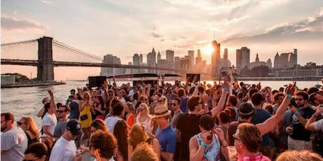 LATIN BOAT PARTY CRUISE  NEW YORK CITY .   VIEWS  OF STATUE OF LIBERTY,Cockctails & Music  tickets