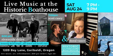 Live Music at the Historic Boathouse - Music Unleashed tickets