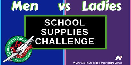 School Supply Drive / OCC tickets