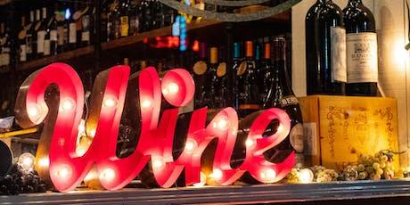 August Wine & Wills tickets