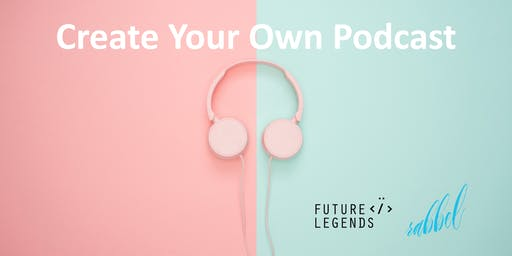 Create Your Own Podcast! Free Workshop For Girls Ages 9 to 12