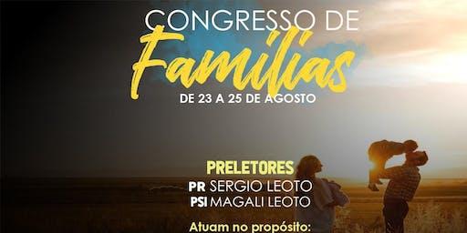 I CONGRESSO DE FAMÍLIAS 2019