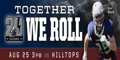 Regina Thunder VS Saskatoon Hilltops tickets