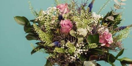 Seasonal  hand-tied bouquet tickets