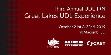 2019 UDL-IRN Great Lakes UDL Experience tickets