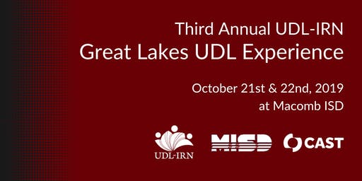 2019 UDL-IRN Great Lakes UDL Experience
