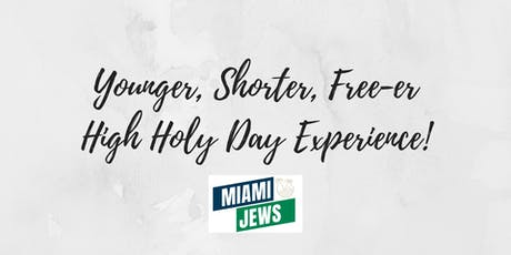 The 2019 Miami Jews High Holy Days tickets
