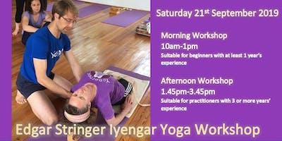 Iyengar Yoga Workshop with Edgar Stringer