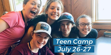 Teen Camp 2020 tickets