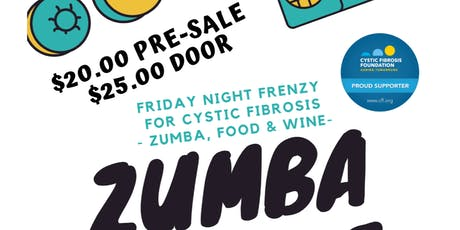 Friday Night Frenzy for Cystic Fibrosis- Zumba Fun  tickets