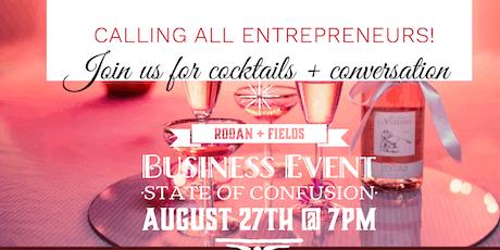 Rodan + Fields: Cocktails & Conversations August 2019 Event  tickets