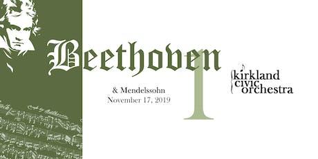 Beethoven & Mendelssohn tickets