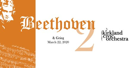 Beethoven & Grieg tickets