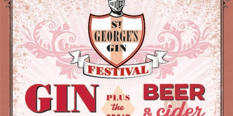 St Georges, october Gin festival tickets