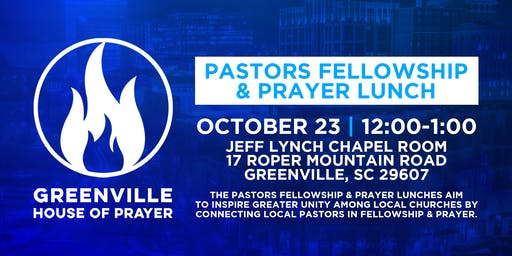 Pastors Fellowship & Prayer Luncheon
