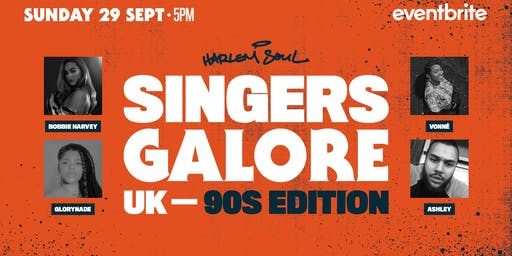 Singers Galore UK: 90'S Edition