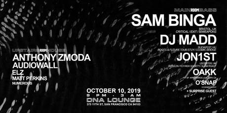 SoundXperiment 001SF | Sam Binga, DJ Madd, Jon1st, Oakk  tickets