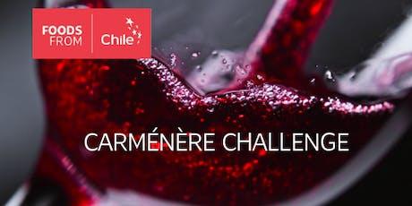 Carménere Challenge boletos