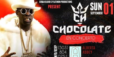 """Chocolate Mc"" Concert In Portland! @ Alberta Abbey (18+Party/21+Bar) tickets"