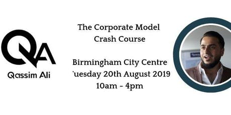 Birmingham Corporate Bookings Crash Course with Qassim Ali - Serviced Accommodation Network tickets