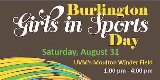 Burlington Girls in Sports Day