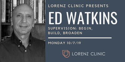 Dr. Ed Watkins - Lorenz Clinic Annual Invited Practitioner Conference