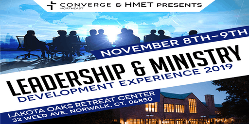 LEADERSHIP & MINISTRY DEVELOPMENT EXPERIENCE 2019