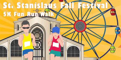 2019 St. Stanislaus Fall Festival | 5K Fun Run/Walk tickets