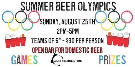 Summer Beer Olympics tickets