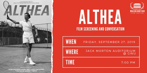 ALTHEA- Film Screening and Conversation
