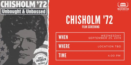 Chisolm 72`` : Unbought and Unbossed  tickets