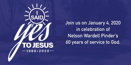 "60th Ordination Anniversary - ""I Said Yes to Jesus"" tickets"