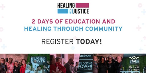 Healing In/Justice 2019 Summit