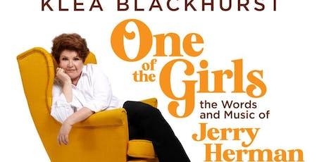 "Klea Blackhurst ""One of the Girls"" tickets"