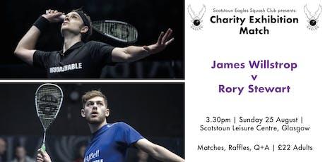 James Willstrop Charity Exhibition Match tickets