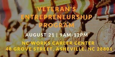 Veteran's Entrepreneurship Program